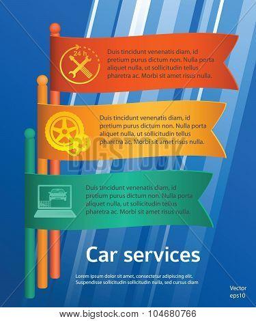 Service-car-repair-flyer-template-flags
