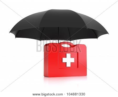 First Aid Kit With Umbrella