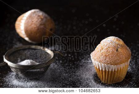 Sugar Powdered Madeleines