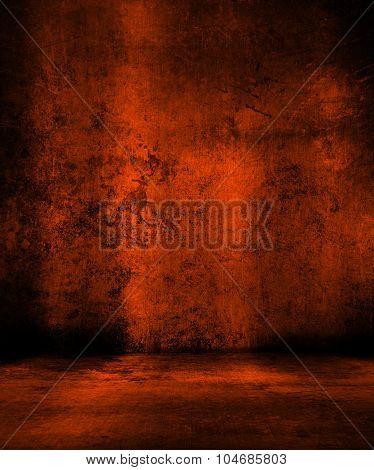 Grunge orange background - ideal for Halloween