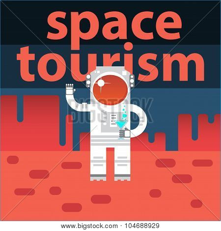 Creative design concept space tourism
