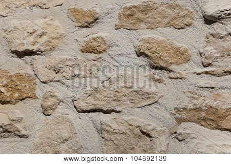 Wall In Beynac-et-cazenac, Dordogne, Aquitaine, France