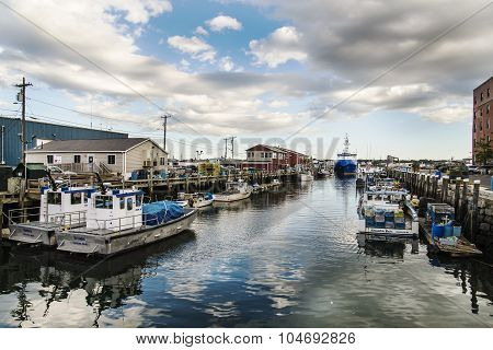 docks and boats
