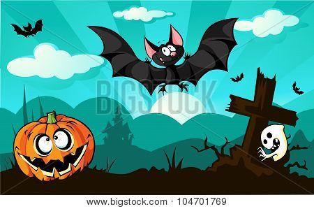 Halloween Design  - Vector Illustration