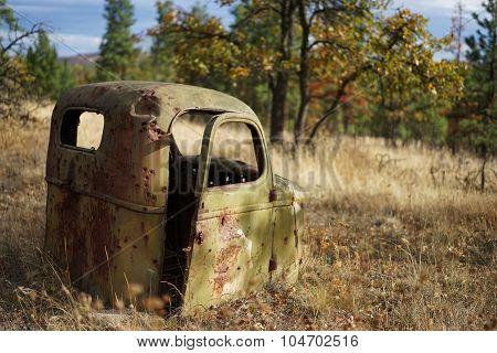 Abandoned Truck Cab