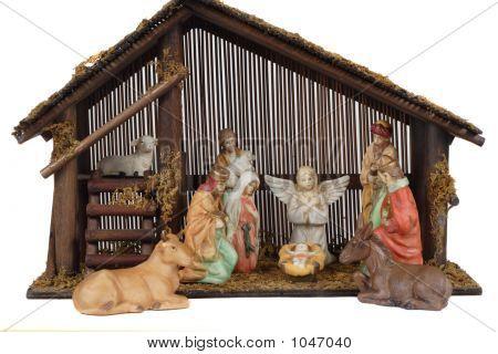 Religious Nativity Scene