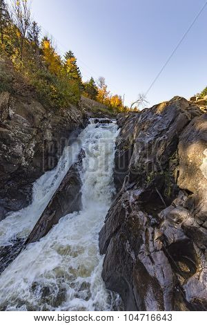Waterfalls in the Adirondack Mountains