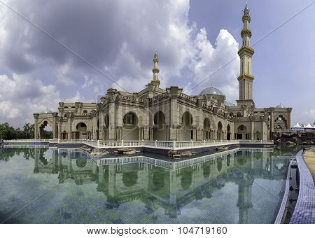 The Federal Territory Mosque, Kuala Lumpur, Malaysia