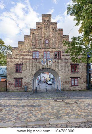 Nordertor, the historic northern gate of Flensburg