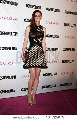 LOS ANGELES - OCT 12:  Lydia Hearst at the Cosmopolitan Magazine's 50th Anniversary Party at the Ysabel on October 12, 2015 in Los Angeles, CA