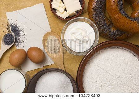 Ingredients For Buns Bagels