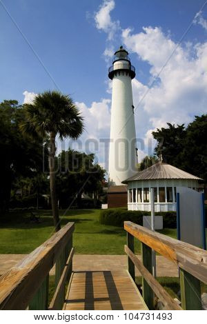 St. Simon's Island Georgia Lighthouse