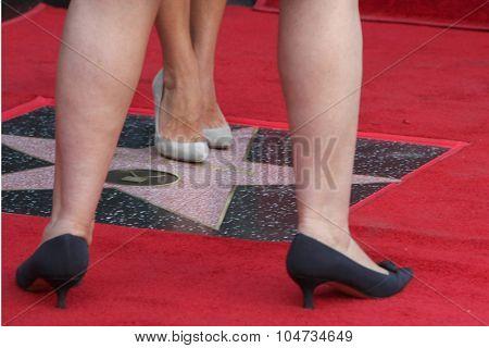 LOS ANGELES - OCT 12:  Ana Martinez, Kelly Ripa at the Kelly Ripa Hollywood Walk of Fame Ceremony at the Hollywood Walk of Fame on October 12, 2015 in Los Angeles, CA