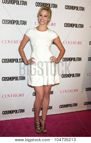 LOS ANGELES - OCT 12:  Gage Golightly at the Cosmopolitan Magazine's 50th Anniversary Party at the Ysabel on October 12, 2015 in Los Angeles, CA