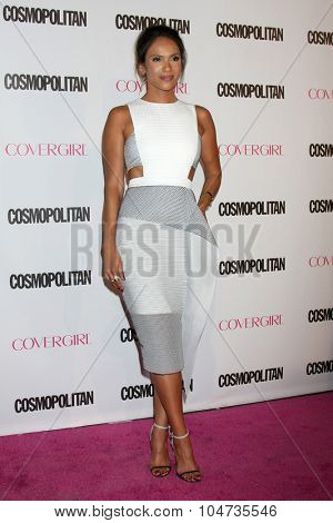 LOS ANGELES - OCT 12:  Lesley-Ann Brandt at the Cosmopolitan Magazine's 50th Anniversary Party at the Ysabel on October 12, 2015 in Los Angeles, CA