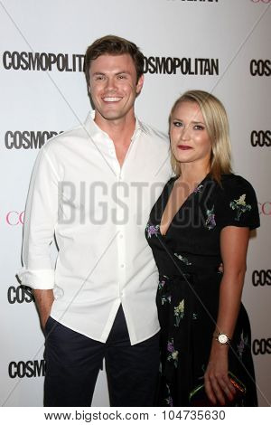 LOS ANGELES - OCT 12:  Blake Cooper Griffin, Emily Osment at the Cosmopolitan Magazine's 50th Anniversary Party at the Ysabel on October 12, 2015 in Los Angeles, CA