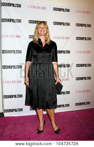 LOS ANGELES - OCT 12:  Angela Featherstone at the Cosmopolitan Magazine's 50th Anniversary Party at the Ysabel on October 12, 2015 in Los Angeles, CA