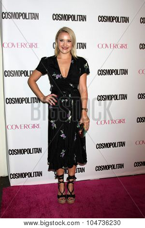 LOS ANGELES - OCT 12:  Emily Osment at the Cosmopolitan Magazine's 50th Anniversary Party at the Ysabel on October 12, 2015 in Los Angeles, CA