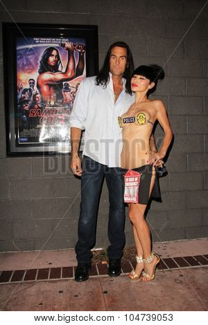 LOS ANGELES - OCT 9:  Mathew Karedas, Bai Ling at the