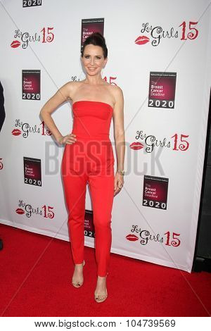 LOS ANGELES - OCT 11:  Jane Bryant at the Les Girls 15 at the Avalon Hollywood on October 11, 2015 in Los Angeles, CA