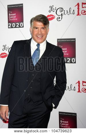 LOS ANGELES - OCT 11:  Bryan Batt at the Les Girls 15 at the Avalon Hollywood on October 11, 2015 in Los Angeles, CA
