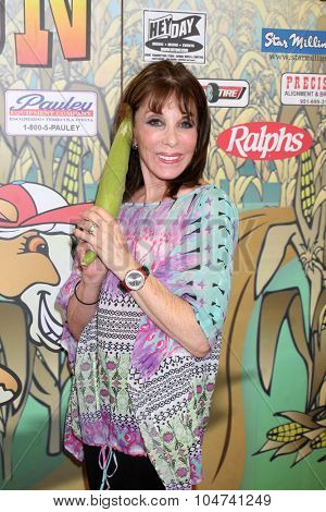 LOS ANGELES - OCT 9:  Kate Linder at the Celebrities Salute the Military at Corn Maze at the Big Horse Feed and Mercantile on October 9, 2015 in Temecula, CA
