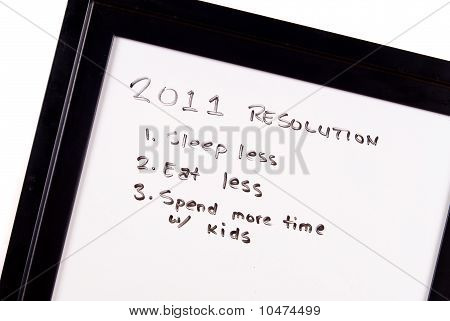 2011 New Years Fun Resolutions