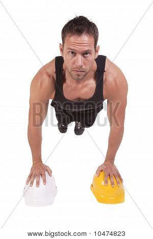 Push Up Hard Hat