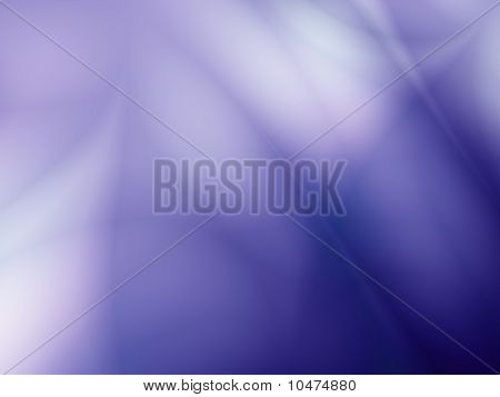 Ocean blue fractal