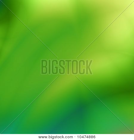Green blur design