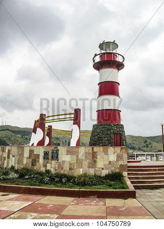 Lighthouse In Faro Peru
