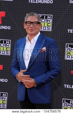LOS ANGELES - OCT 8:  Boris Izaguirre at the Latin American Music Awards at the Dolby Theater on October 8, 2015 in Los Angeles, CA