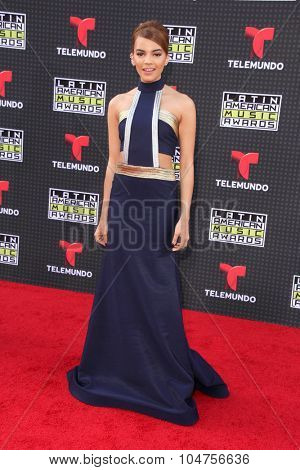 LOS ANGELES - OCT 8:  Leslie Grace at the Latin American Music Awards at the Dolby Theater on October 8, 2015 in Los Angeles, CA