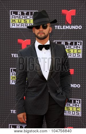 LOS ANGELES - OCT 8:  Gabriel Ramirez at the Latin American Music Awards at the Dolby Theater on October 8, 2015 in Los Angeles, CA
