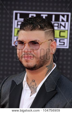 LOS ANGELES - OCT 8:  Farruko at the Latin American Music Awards at the Dolby Theater on October 8, 2015 in Los Angeles, CA
