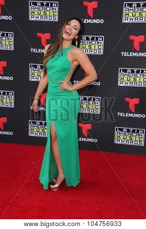 LOS ANGELES - OCT 8:  Estefany Olivera at the Latin American Music Awards at the Dolby Theater on October 8, 2015 in Los Angeles, CA