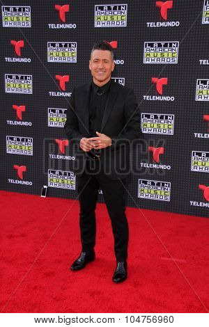 LOS ANGELES - OCT 8:  Jorge Bernal at the Latin American Music Awards at the Dolby Theater on October 8, 2015 in Los Angeles, CA