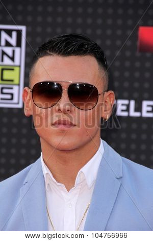 LOS ANGELES - OCT 8:  Kevin Roldan at the Latin American Music Awards at the Dolby Theater on October 8, 2015 in Los Angeles, CA