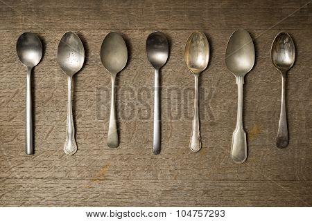 Assorted Teaspoons