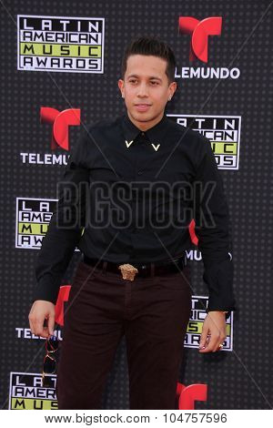 LOS ANGELES - OCT 8:  De La Ghetto at the Latin American Music Awards at the Dolby Theater on October 8, 2015 in Los Angeles, CA