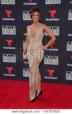 LOS ANGELES - OCT 8:  Erika Csiszer at the Latin American Music Awards at the Dolby Theater on October 8, 2015 in Los Angeles, CA