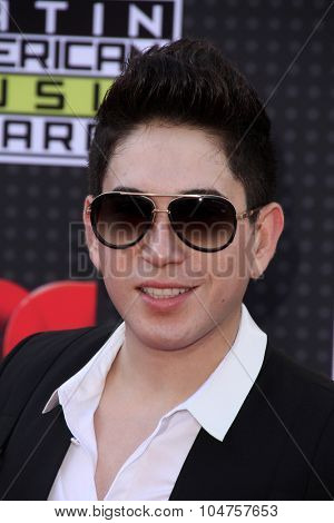 LOS ANGELES - OCT 8:  El Bebeto at the Latin American Music Awards at the Dolby Theater on October 8, 2015 in Los Angeles, CA