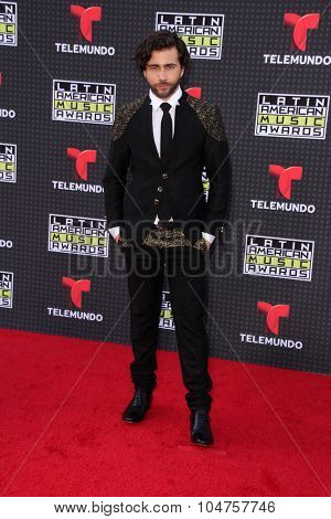 LOS ANGELES - OCT 8:  Fernandso Noriega at the Latin American Music Awards at the Dolby Theater on October 8, 2015 in Los Angeles, CA