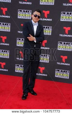 LOS ANGELES - OCT 8:  Flex at the Latin American Music Awards at the Dolby Theater on October 8, 2015 in Los Angeles, CA