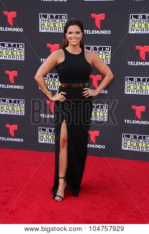LOS ANGELES - OCT 8:  Rashel Diaz at the Latin American Music Awards at the Dolby Theater on October 8, 2015 in Los Angeles, CA
