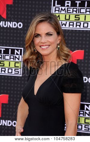 LOS ANGELES - OCT 8:  Natalie Morales at the Latin American Music Awards at the Dolby Theater on October 8, 2015 in Los Angeles, CA