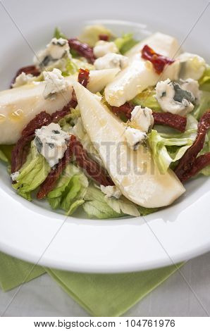 Pear, Stilton And Walnut Salad