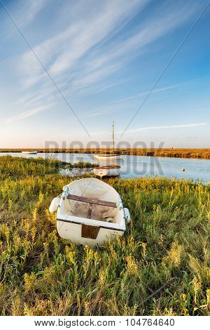 Boats On The Marshes