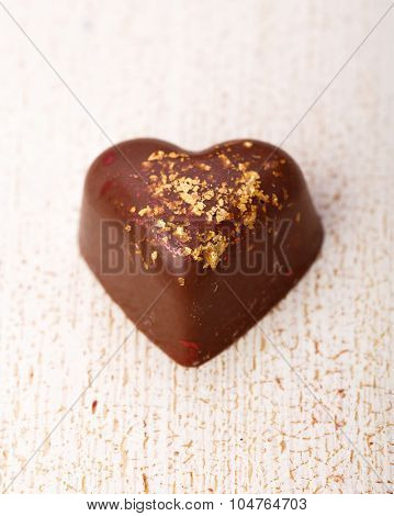 The Heart-shaped Chocolate Candy