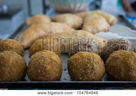 Scotch Eggs Fresh Out The Butchers Oven